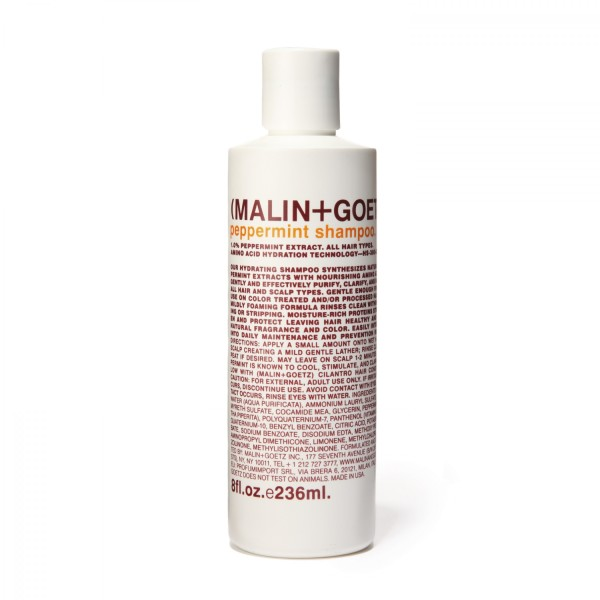 malin peppermint shampoo