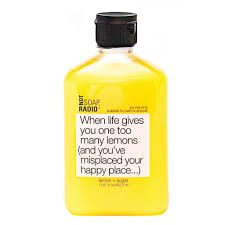 not soap radio lemon