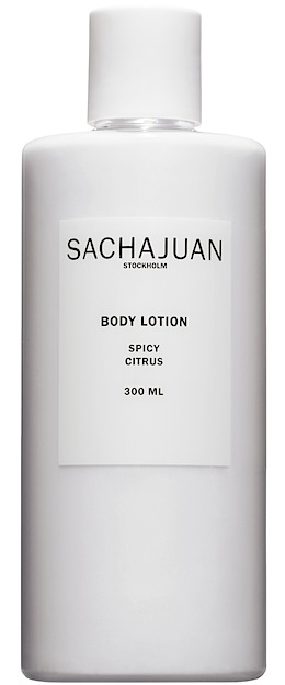 sachajuan spicy citrus lotion